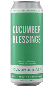 Cucumber Blessings Ale - Pine Island Tap House